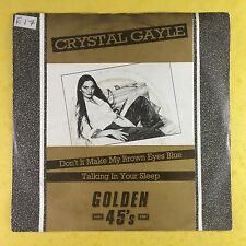 Crystal Gayle - Don't It Make My Brown Eyes Blue / Talking In Your Sleep - Ex