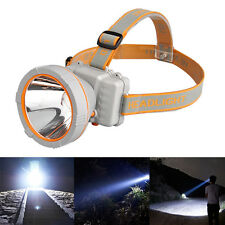 3000 Lumens LED Headlamp Head Lamp Waterproof Rechargeable Headlight+USB Charger