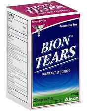 Bion Tears Lubricant Eye Drops Single Use Vials 28 ea (Pack of 8)