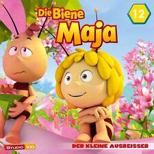 DIE BIENE MAJA - 12: DER KLEINE AUSREIßER,DICKE LUFT U.A. (CGI)  CD NEU