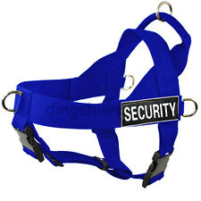 POLICE K9 DOG HARNESS No Pull Dog Harness with Patches Dog Walking Service Vest