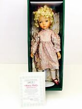 """15"""" Knowles Mother Goose Collection  Mary Mary Quite Contrary Porcelain Doll"""