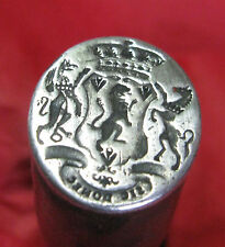 EXQUISITE RARE C18TH SEAL OF FRANCIS EGERTON, 3RD DUKE OF BRIDGEWATER
