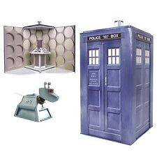 "VINTAGE STYLE DOCTOR WHO 10"" TARDIS COLLECTIBLE PLAY-SET BRAND NEW OFFICIAL BBC"