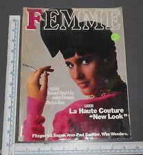 FEMME FRENCH FASHION MAGAZINE 1984