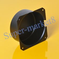 1pc 120x57mm Black Metal Shield Toroid Transformer Cover Protect Chassis Case