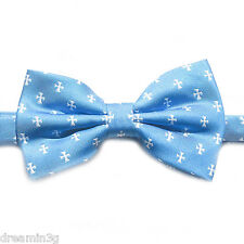 Sigma Chi Blue Cross Bow Tie (Pre-Tied) - Brand New Product!