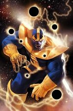 Thanos Son of Titan poster 24 x 36 inches & 10 x 16 inches LOT OF 2 POSTERS