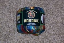 Lion Brand Incredible Yarn - Copper Penny #208 - PARTIAL SKEIN - 1.6 oz.