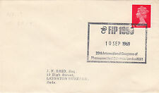 (33901) GB CLEARANCE Cover FIP Pharmaceutical Sciences London NW1 10 Sept 1969