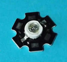 5w 850nm ir Power LED on Heatsink disipador térmico emisores infrarrojos Infrared 5mm