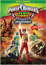 Power Rangers Dino Charge Resurgence (2016, REGION 1 DVD New)