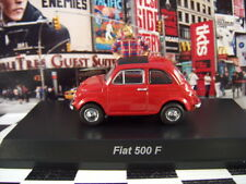 '16 KYOSHO FIAT 500 F RED FIAT COLLECTION SCALE 1:64