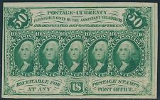 #Fr1312 50¢ 1St Issue Choice Cu Fractional Currency Br4713