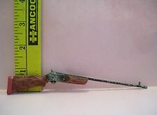 11 & 1/2 FASHION DOLL SIZE MINIATURE FAKE GUN 1/6 LITTLES 6 INCHES LONG