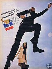 Publicité Advertising 046 1970 Française filtre cigarettes brunes