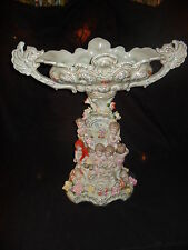 MEISSEN AND DRESDEN PORCELAIN CENTER PIECE