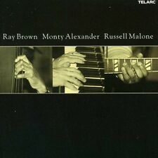 Ray Brown/Monty Alaxander/Russell Malone - Brown/Alexander/Malon (2002, CD NEUF)
