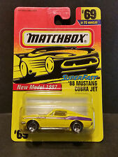 1996 Matchbox New Model 1997 Superfast 69/75 '68 Mustang Cobra Jet