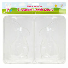 Make your own Chocolate bunny - 16cm x 8cm Chocolate Bunny Mould Easter Egg Hunt