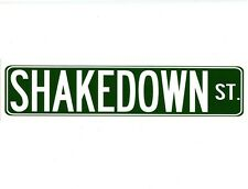 S124 - Shakedown Street Grateful Dead Color Bumper Sticker