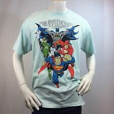 Men's T-shirt JUSTICE LEAGUE DC COMICS Batman Green Lantern Flash Superman XL
