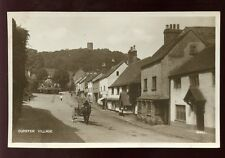 Somerset DUNSTER Village Horse Cart early RP PPC by Photochrom Co