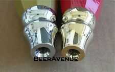Chrome MEDIUM Beer tap handle Replacement Ferrule 5/16 NEW