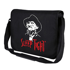 Sleep Tight | Freddy Krüger | Fun | Schwarz | Umhängetasche | Messenger Bag