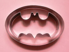 Batman Logo Fondant Pastry Biscuit Baking Cookie Stainless Steel Cutter Set