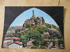 Le Puy alt. 630m. - Le Rocher Corneille et la Statue de ND de France