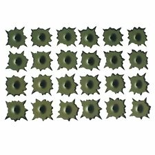 Army Green Paper Made Shothole 24 Holes Car Decal Sticker SYSZAU High Quality