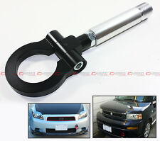 BLACK JDM FOLDING RING SCREW ON FRONT/REAR BUMPER TOW HOOK FOR TOYOTA MODEL