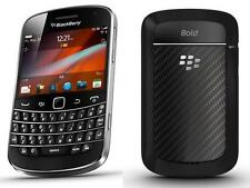 NEW BLACKBERRY 9900 BOLD 4 BLACK COLOUR TOUCH+TYPE+8 GB MEMORY NON CAMERA