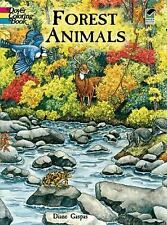 Dover Nature Coloring Book: Forest Animals Coloring Book by Dianne Gaspas...