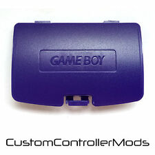 Gameboy Color GBC Game Boy Couleur couvercle de batterie de rechange-Violet