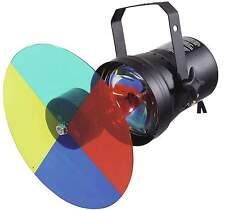 EUROLITE Farbwechslerset + PAR-36 Pinspot + Leuchtmittel - PIN-Spot Farbrad NEU