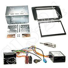 Skoda Octavia II Doppel-DIN Autoradio Blende+CAN-BUS Interface + Antenne Adapter