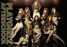After School?PLAYGIRLZ CD+DVD+playing cards+ trading card JAPAN Limited Edition