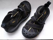Keen Aqua Stop Sandals Color black w/ yellow sz 9.5 mens