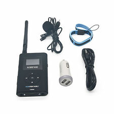NIO-T300M 0.3W Portable FM Transmitter Radio Broadcast f/ Tourism Church Meeting