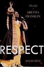 Respect : The Life of Aretha Franklin Biogaphy Hardcover book First Edition soul