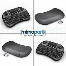 2,4GHz Rii i8 Mini Funk kabellos Tastatur Touchpad Wireless Keyboard Backlight