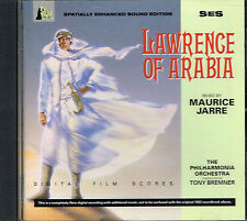 CD album: Lawrence of Arabia: Maurice Jarre. Tony Bremner. Silva Screen  . H