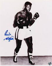 EMILE GRIFFITH ~DECEASED SIGNED 8 X 10 B&W PHOTO WOF HOLO~ COA OLD PRO GALLERY