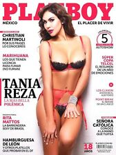 PLAYBOY MEXICO TANIA REZA ENERO/JANUARY 2016 PLAYBOY MEXICAN EDITION NEW/SEALED