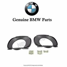 BMW E70 X5 2007-2010 Rear Exhaust Tip Trim Kit for Bumper Cover Genuine