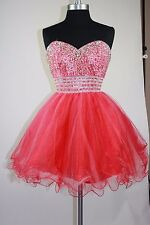 Women's Short Bridesmaid Homecoming Formal Gown Ball Party Evening Prom Dresses