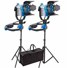 FSKIT150A Fresnel Tungsten Video Continuous Lighting 150W SPOT LIGHT PRO two set