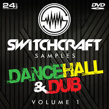 Dancehall & dub vol 1-Studio de 24bit wav / échantillons de production musicale-DVD
